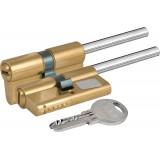 Цилиндровый механизм  под вертушку (дл.шток) 164 SX/66 (30+10+26) mm латунь 5 кл.