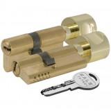 Цилиндровый механизм с вертушкой 164 OBS SCE/100 (45+10+45) mm латунь 5 кл.