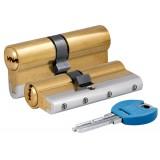 Цилиндровый механизм 164 YGS/80 (35+10+35) mm латунь 5 кл.