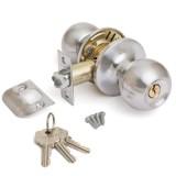 Защёлка AVERS 6072-01-NIS(S) мат.никель кл/фикс