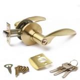 Защёлка  Апекс 8020-01-GM мат.золото кл/фикс