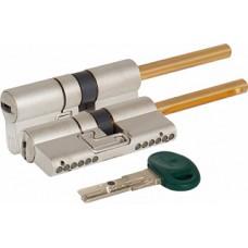 Цилиндровый механизм под вертушку (дл. шток) C48P313101 (62 мм/26+10+26), МАТ.НИКЕЛЬ