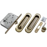 Комплект для раздвижных дверей Morelli MHS150 WC AB Античная бронза