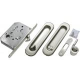 Комплект для раздвижных дверей Morelli MHS150 WC Матовый хром