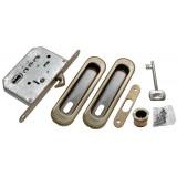 Комплект для раздвижных дверей Morelli MHS150 L AB Античная бронза