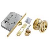 Комплект для раздвижных дверей Morelli MHS-1 WC SG Матовое золото
