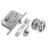 Комплект для раздвижных дверей Morelli MHS-1 WC SC  Матовый хром