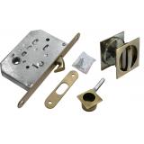 Комплект для раздвижных дверей Morelli MHS-2 WC  Античная бронза
