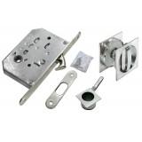 Комплект для раздвижных дверей Morelli MHS-2 WC  Матовый хром