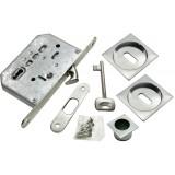 Комплект для раздвижных дверей Morelli MHS-2 L SC Матовый хром