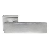 Дверные ручки MORELLI LUXURY SPAСE CSA Цвет - Матовый хром