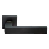 Дверные ручки MORELLI LUXURY (HORIZONT/ГОРИЗОНТ) BLACK Цвет - Матовая черная бронза
