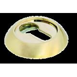 Накладки на ключевой цилиндр Морелли MH-KH SG/GP Цвет - Матовое золото/золото