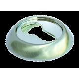 Накладки на ключевой цилиндр Morelli MH-KH SN/CP Цвет - Белый никель/хром