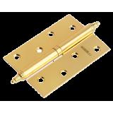 Петля Morelli стальная разъемная с короной MS 100X70X2.5 L SG Цвет - Матовое золото