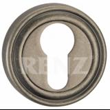 Накладка для ц/м  RENZ ET 16 SL серебро ант.