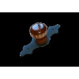 Домарт мод.7 черный Ручка-кнопка декоративная