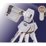 Цилиндровый механизм MSM 40 мм SN 3кл (Односторонний)