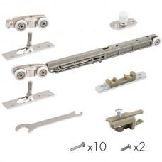 Комплект Armadillo (Армадилло) для раздвижных дверей Comfort - PRO SET 3 /soft close+roller/ 80 (CFA170B)