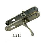 Ручки на планке АЛЛЮР РН-103/85Z AB ст.бронза 85мм