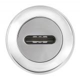 Накладка под сувальдный ключ SC RM CP-8 (1 шт.) Хром