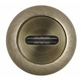 Накладка под сувальдный ключ SC RM ABG-6 (1 шт.) Зеленая бронза