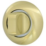 Ручка поворотная WC-BOLT BK6-1GP/CP-2 золото/хром