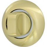 Ручка поворотная WC-BOLT BK6-1SG/CP-1 матовое золото/хром